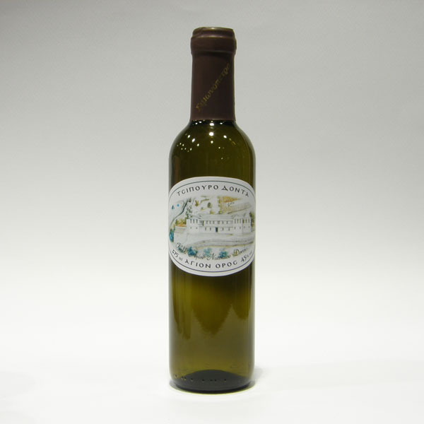 Tsipouro With Aniseed Holy Great Monastery of Vatopedi (375 ml)