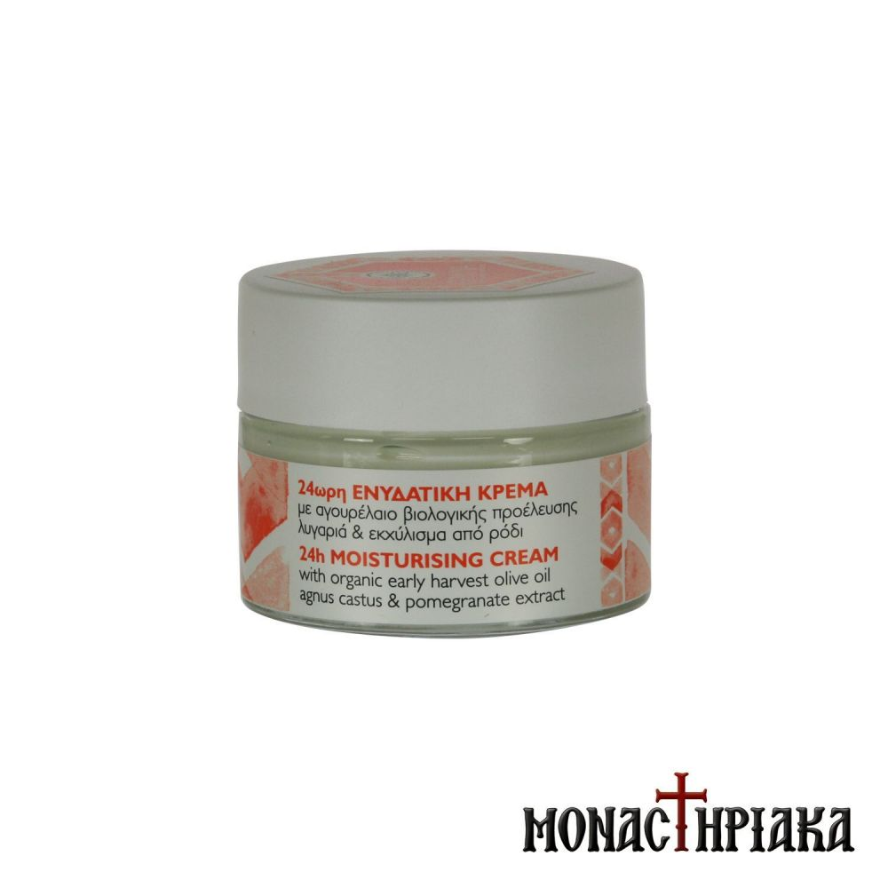 24h Hydrating and Anti-Aging Facial Cream by the Holy Monastery of the Annunciation of Theotokos