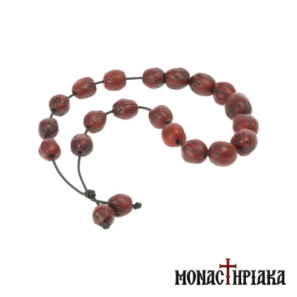 Aromatic Worry Bead (Komboloi) with Nutmeg Nuts