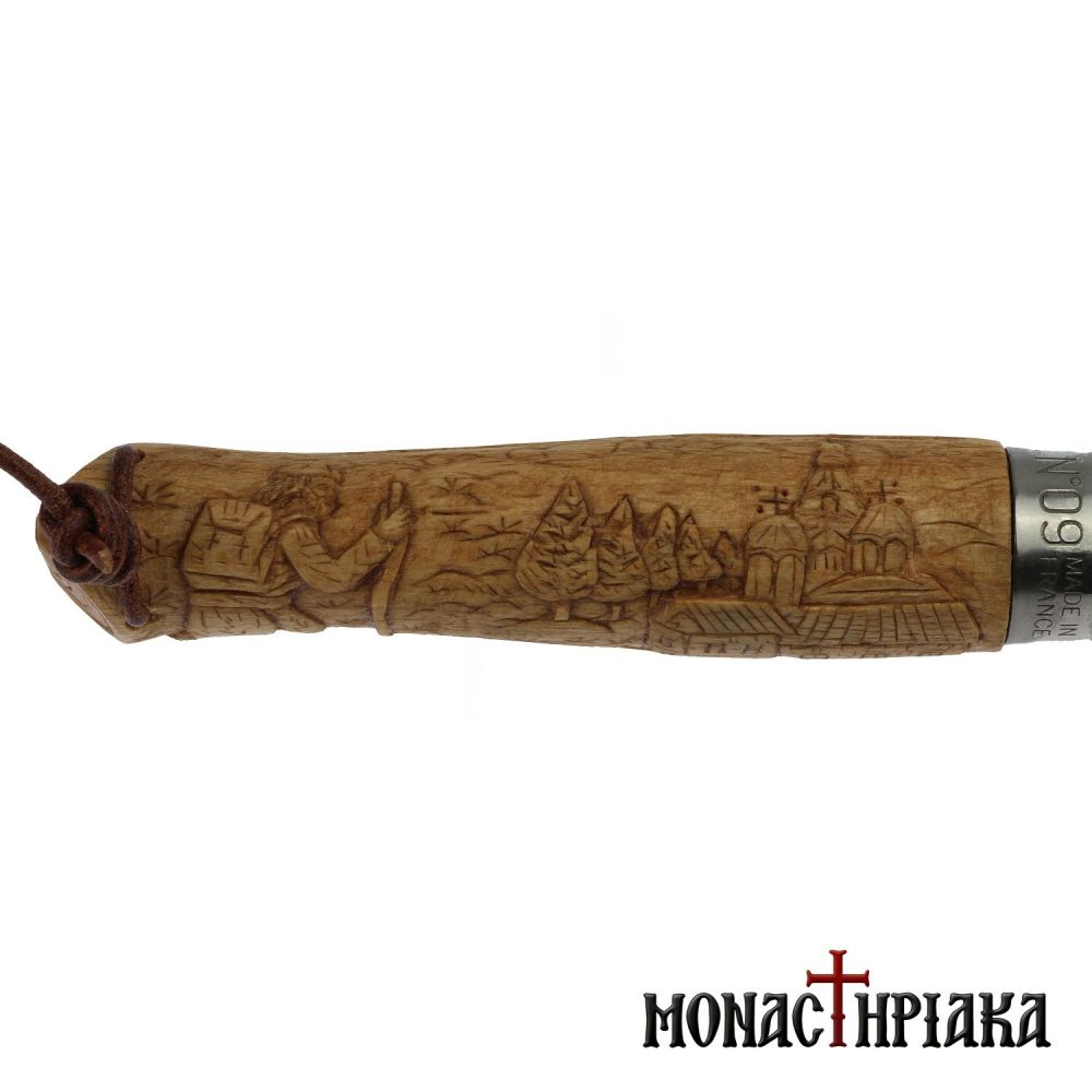 Clasp Knife Depicting a Prayer