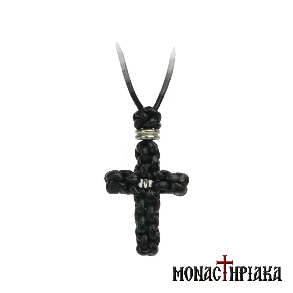 Leather Neck Cross