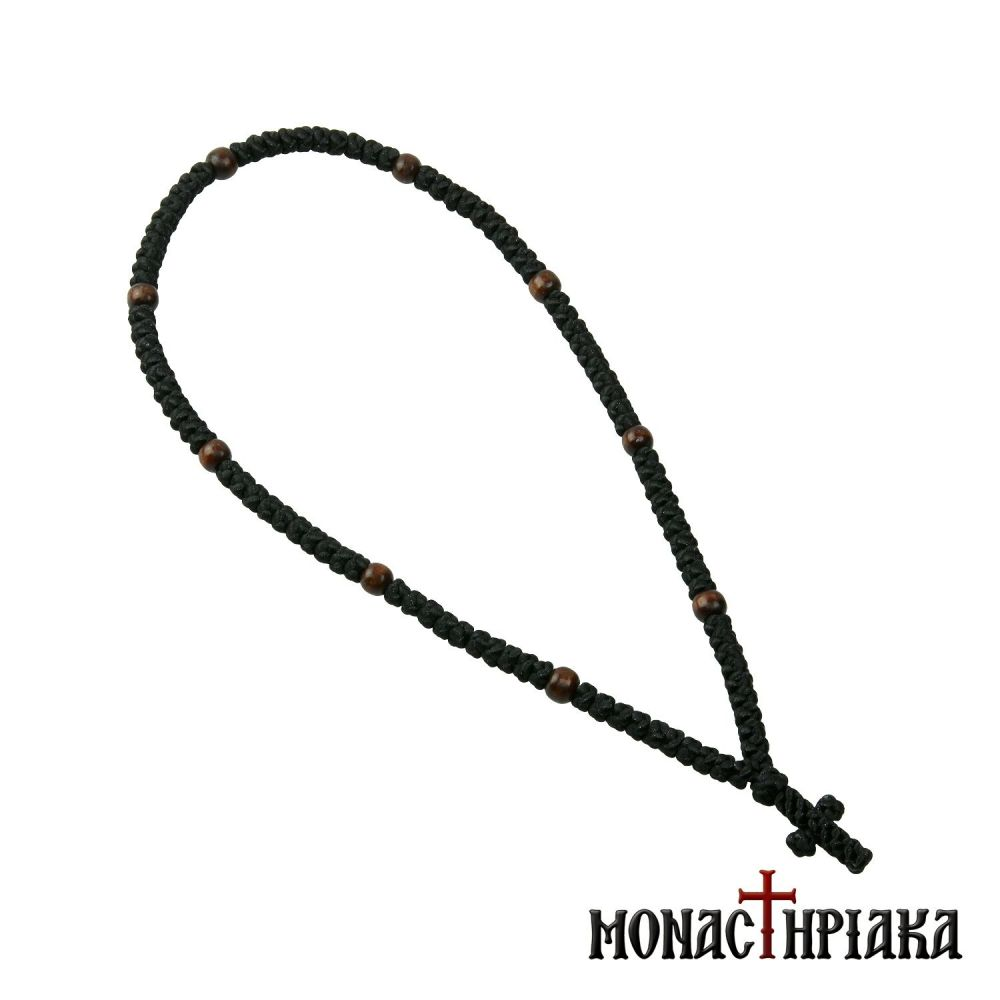 Prayer Rope with 100 Knots and 9 Beads