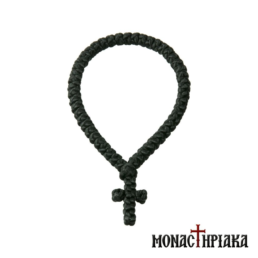 Prayer Rope with 50 Knots From Synthetic Yarn