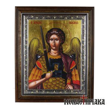 Archangels orthodox Icons Michael & Gabriel | monastiriaka gr