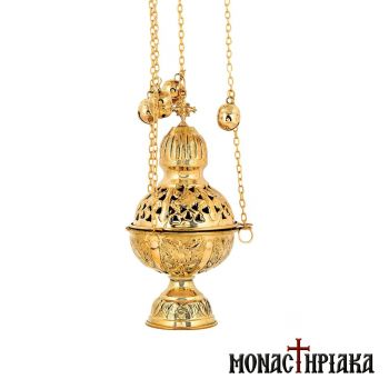 Gold Plated Church Censer