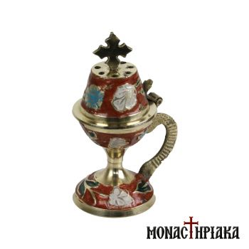 Home Censer in Red Color