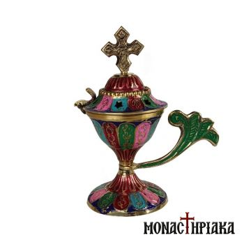 Home Censer with Colored Decoration