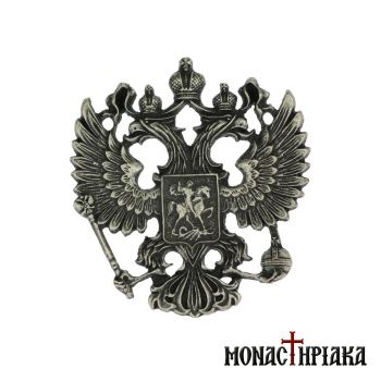 Lapel Pin Big Russian Double-Headed Eagle