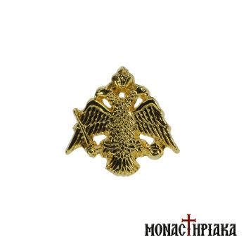 Lapel Pin Byzantine Double-Headed Eagle