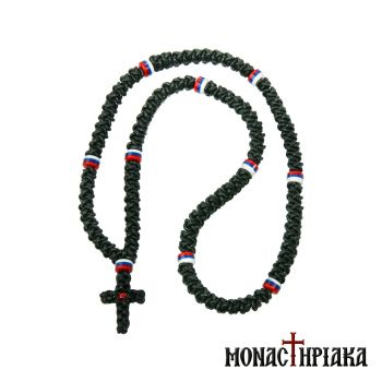 Leather & Knitted Prayer Rope 100 Knots