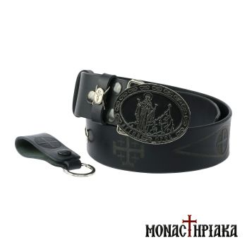 Leather Belt Eforos - Holy Cell of Saint Nicholas
