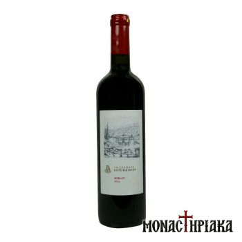 Merlot Red Wine of the Holy Great Monastery of Vatopedi