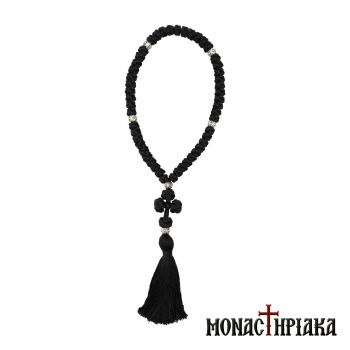 Prayer Rope 50 Knots Made of Synthetic Silk