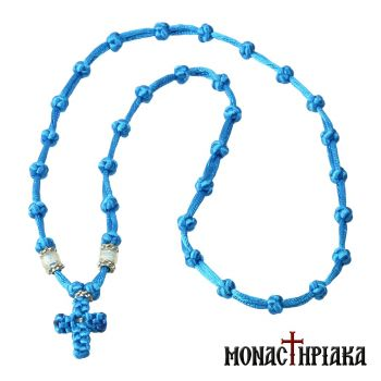Prayer Rope Necklace with 33 Thin Knots