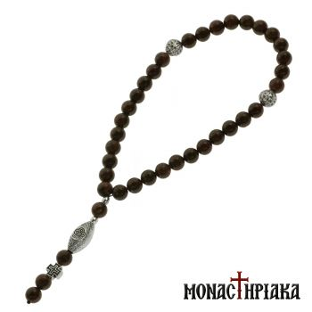 Prayer Rope with 33 Garnet
