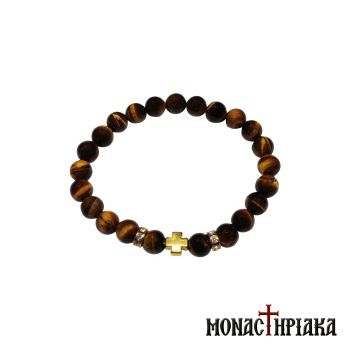 Prayer Rope with Tiger Eye Beads