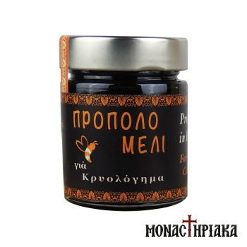 Propolis Honey for Cold of the Holy Dormition Monastery