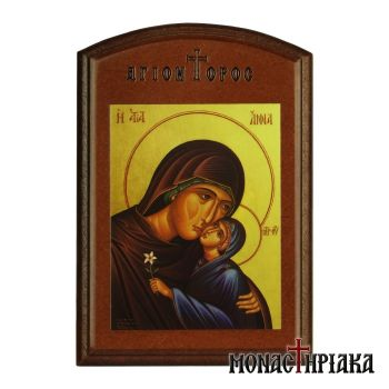 Saint Anne with Theotokos