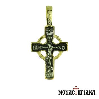 Silver Cross with Jesus