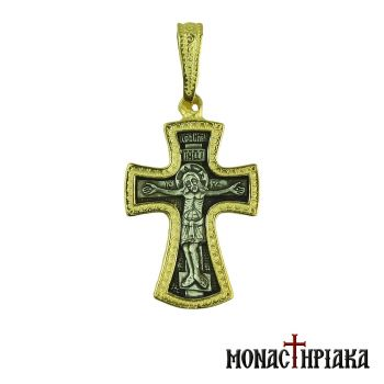 Silver Cross with the Crucified and Holy Belt