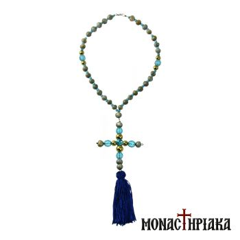 Virgin Mary Tears Prayer Rope 30 Knots Holy Cell Presentation of Mary