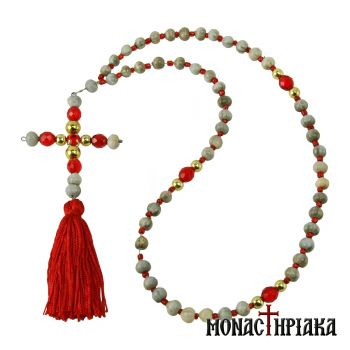 Virgin Mary Tears Prayer Rope 50 Knots Holy Cell Presentation of Mary