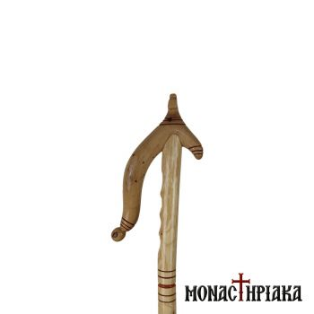 Walking Stick with Bending Grip and Cross