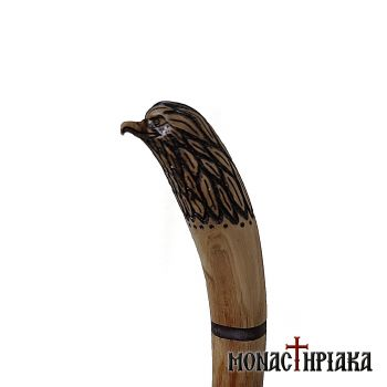 Walking Stick with Eagle