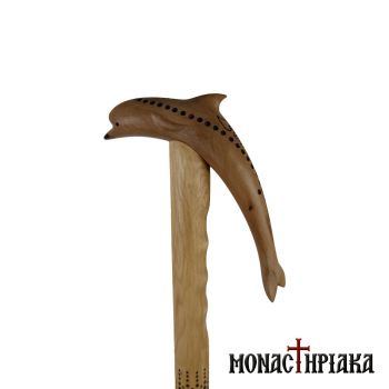 Walking Stick with Shape of a Dolphin