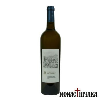 White Wine of the Holy Great Monastery of Vatopedi