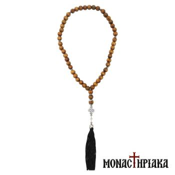 Wooden Prayer Rope with 50 Beads