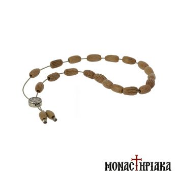 Worry Beads from Natural Olive Seeds Beads
