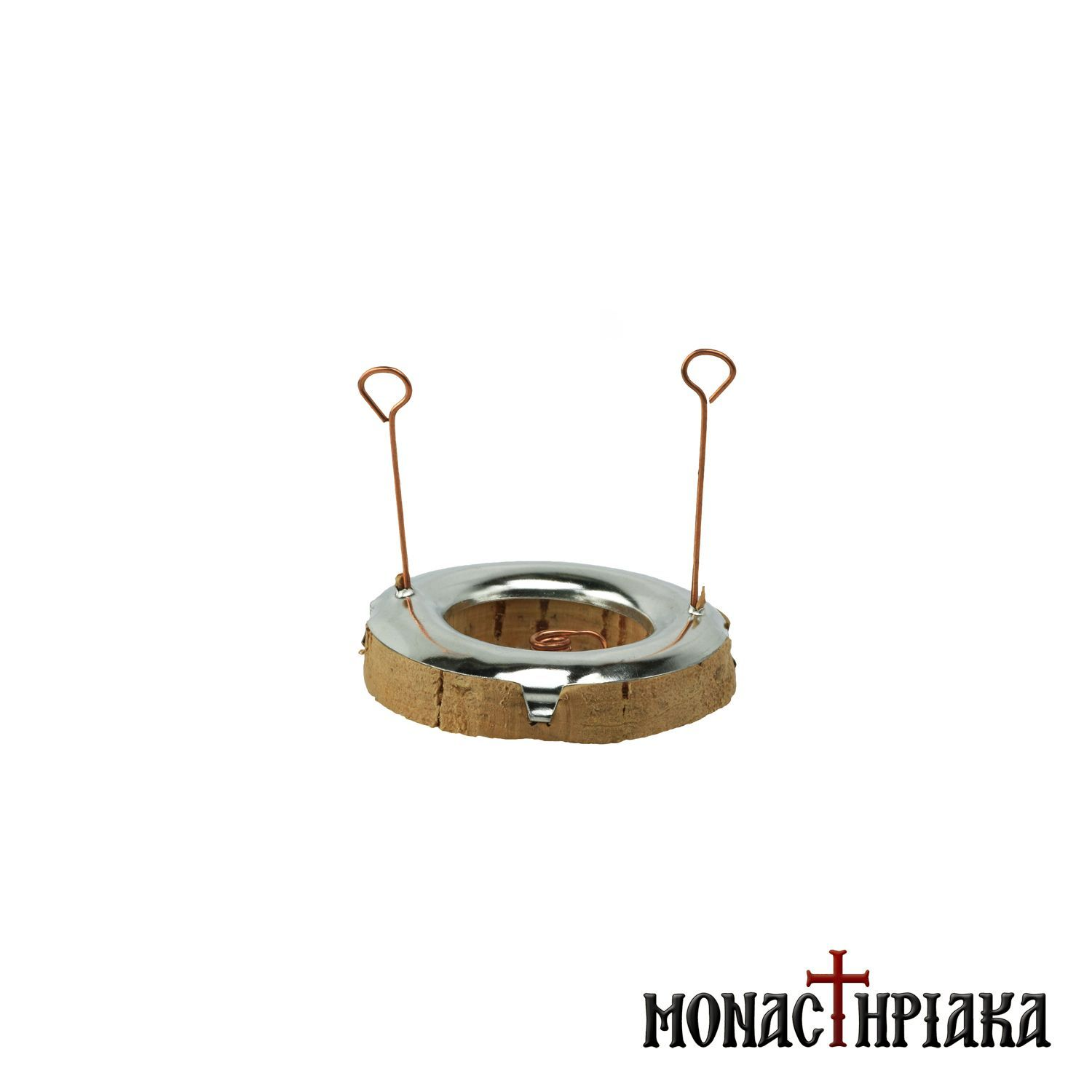 Picture of: Mount Athos Wick Float For Vigil Lamp Cantilithra
