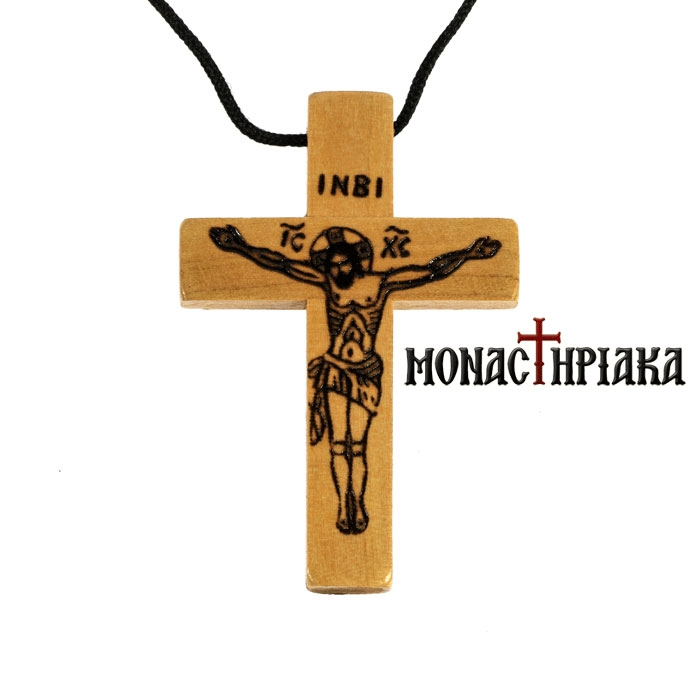 Wooden Cross Necklace (xs l 01)