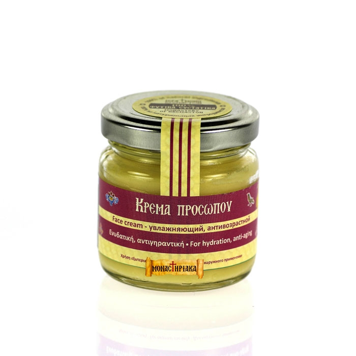 Facial Cream with Anti-Aging and Moisturizing Action - 100g.
