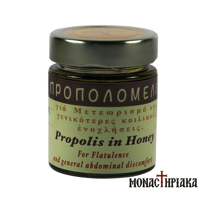 Propolis Honey for Bloating and Abdominal Discomfort- H.M. of Dormition (156 ml)