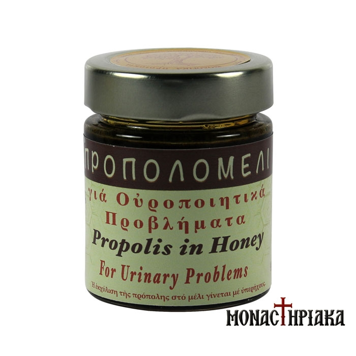 Propolis Honey for Urinary Problems - H.M. of Dormition(156 ml)