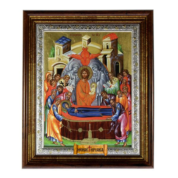 The Dormition of the Theotokos (Serigraph) - Saint John the Baptist Cell