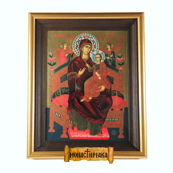 Virgin Mary Pantanasa (serigraph 2)