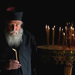 Easter Candles from Mount Athos