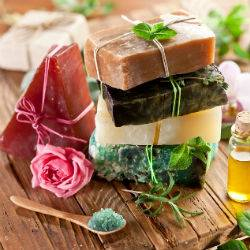 Pure handmade soaps and shampoos