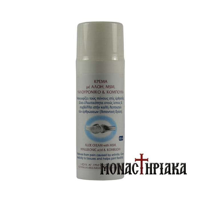 Cream with Aloe Vera, Msm, Hyaluronic Acid & Kompoucha
