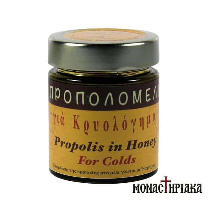 Propolis Honey for Cold - H.M. of Dormition (156 ml)