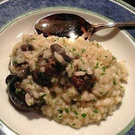 Pilaf with snails