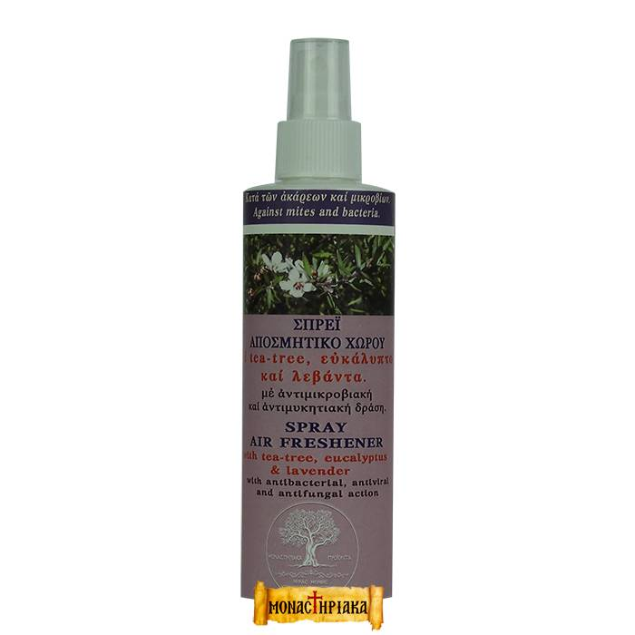 Natural Acaricide and Air Refresher with Tea Tree - Eucalyptus - Lavender