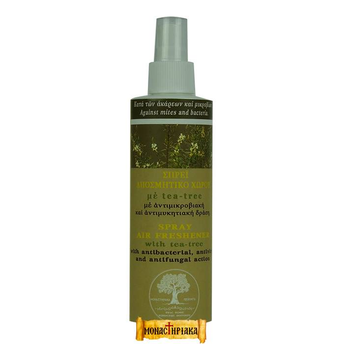 Natural Acaricide and Air Refresher with Tea Tree