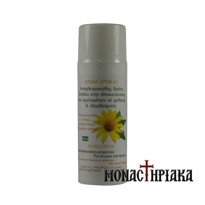 Monastic Cream with Arnica  - Holly Monastery of St. Gregory Palamas
