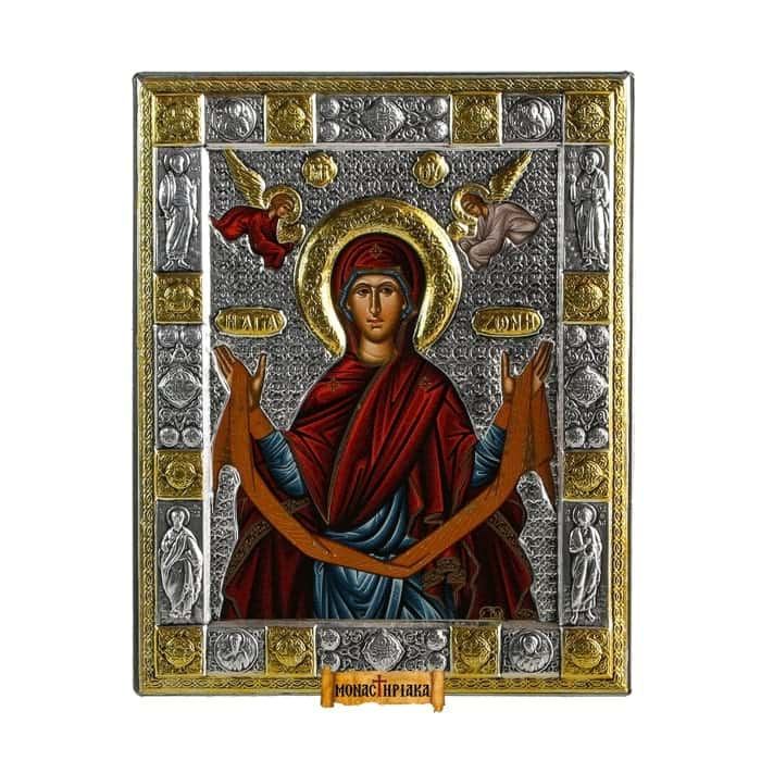 The Holy Belt of the Theotokos - Agia Zoni (sil 02)