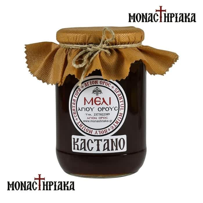 Chestnut Tree Honey of Mount Athos